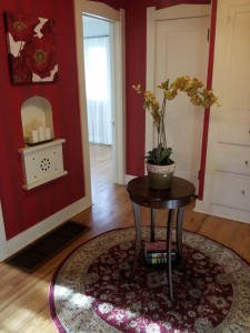 What to do when staging a home with a large hallway...